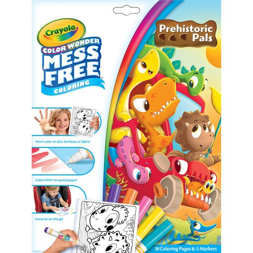 Picture of Color Wonder Mess Free Colouring - Pre-Historic Pals