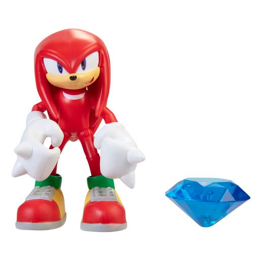 Picture of Sonic 10cm Figures -Modern Knuckles With Chaos Emerald