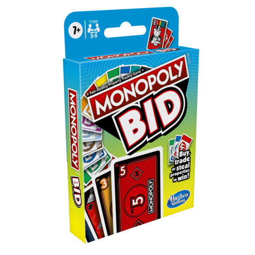 Picture of Monopoly Bid Card Game