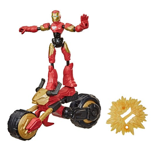 Picture of Bend & Flex Marvel Figure - Flex Rider Iron-Man