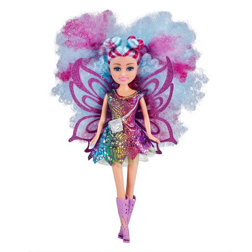 Picture of Sparkle Girlz Hair Dreams Doll by Zuru - Blue