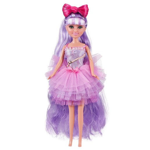 Picture of Sparkle Girlz Hair Dreams Doll by Zuru - Purple