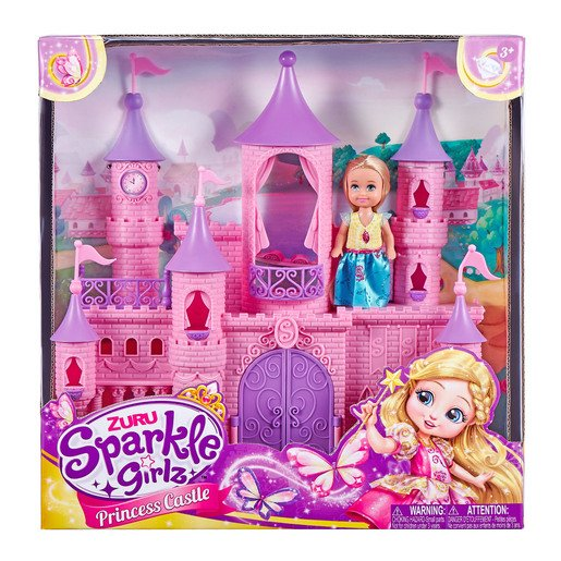 Picture of Sparkle Girlz - Mini Castle with Cupcake Doll
