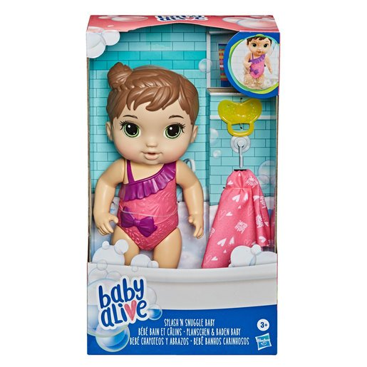 Picture of Baby Alive: Splash 'n Snuggle Baby Doll For Water Play