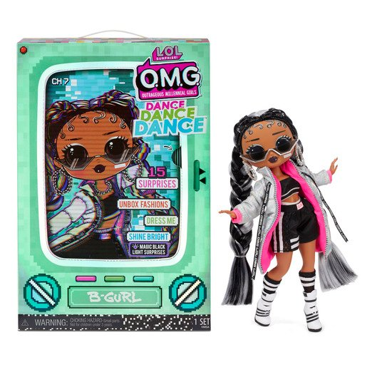 Picture of L.O.L. Surprise! Outrageous Millennial Girls Dance Fashion Doll - B-Gurl