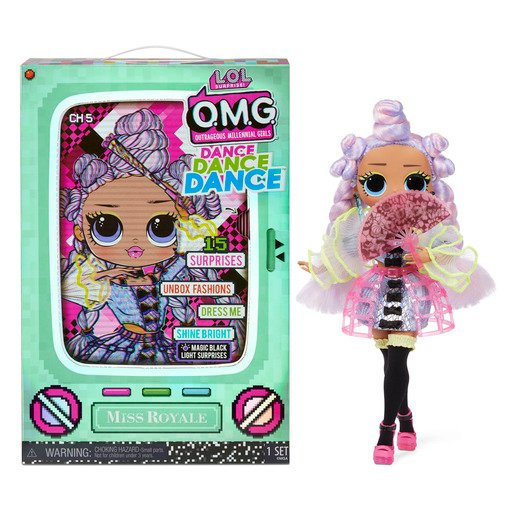 Picture of L.O.L. Surprise! Outrageous Millennial Girls Dance Fashion Doll - Miss Royale