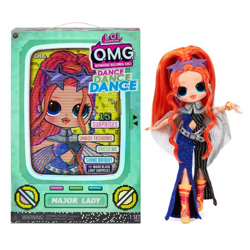Picture of L.O.L. Surprise! Outrageous Millennial Girls Dance Fashion Doll - Major Lady