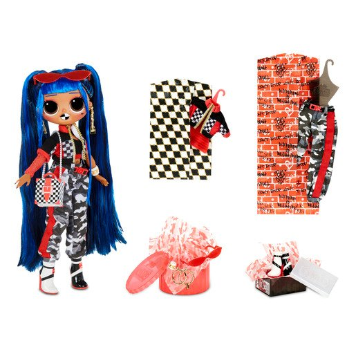 Picture of L.O.L Surprise! Outrageous Millennial Girls - Downtown BB Fashion Doll with 20 Surprises