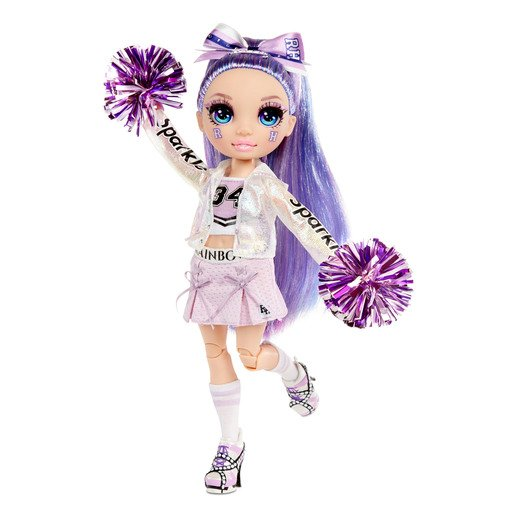 Picture of Rainbow High Cheer Doll - Violet Willow