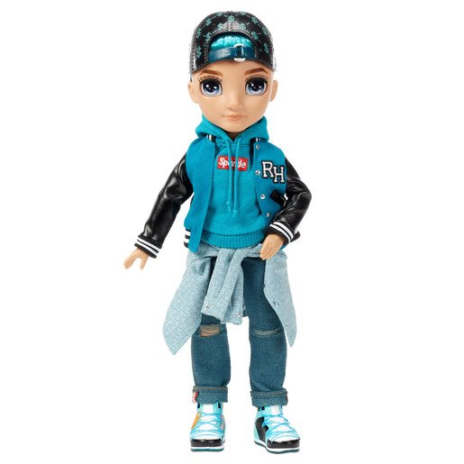 Picture of Rainbow High Fashion Doll - River Kendall (Teal Boy)