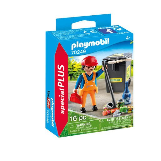 Picture of Playmobil 70249 Special Plus Street Cleaner Playset