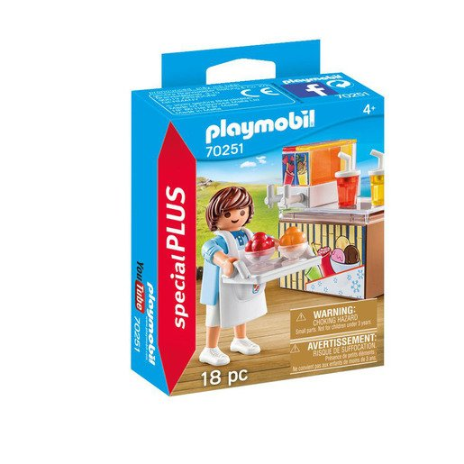 Picture of Playmobil 70251 Special Plus Street Vendor Playset