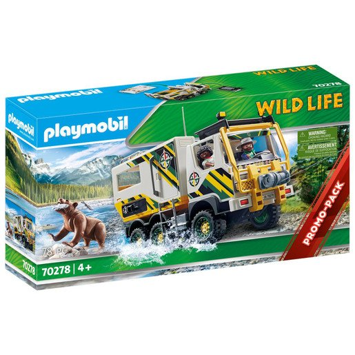 Picture of Playmobil 70278 Wild Life Outdoor Expedition Truck