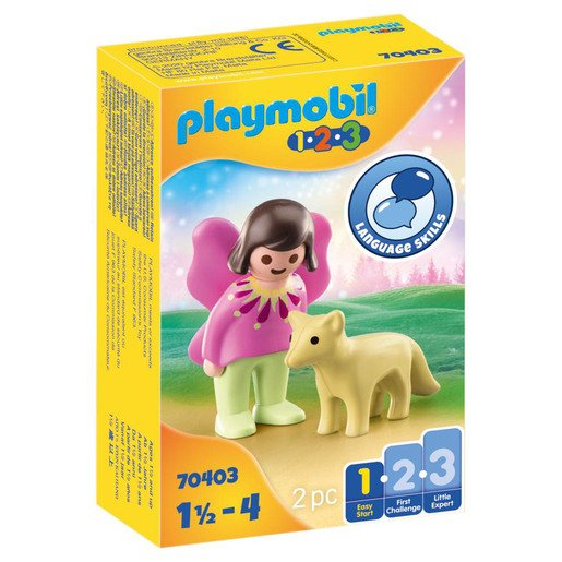 Picture of Playmobil 70403 1.2.3 Fairy Friend with Fox Figures