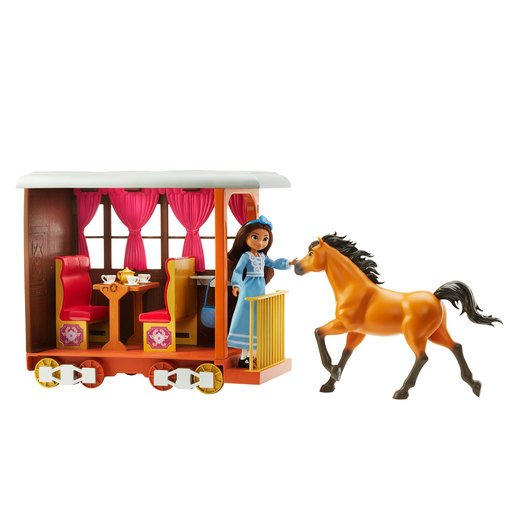 Picture of Spirit Untamed Lucky's Train Home Playset