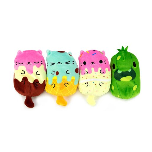 Picture of Cats vs Pickles Plush Collectable 4 Pack - Kitty Cake
