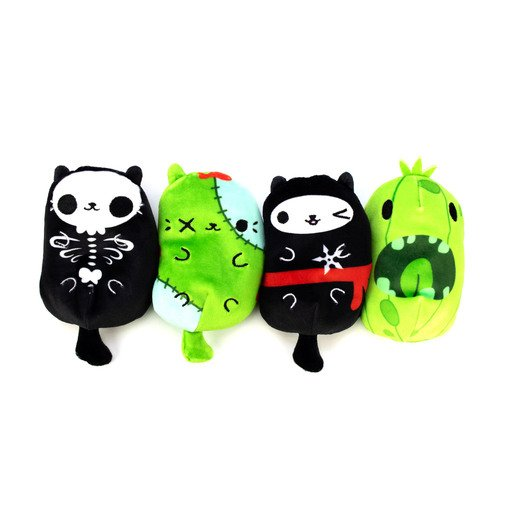 Picture of Cats vs Pickles Plush Collectable 4 Pack - Ninja