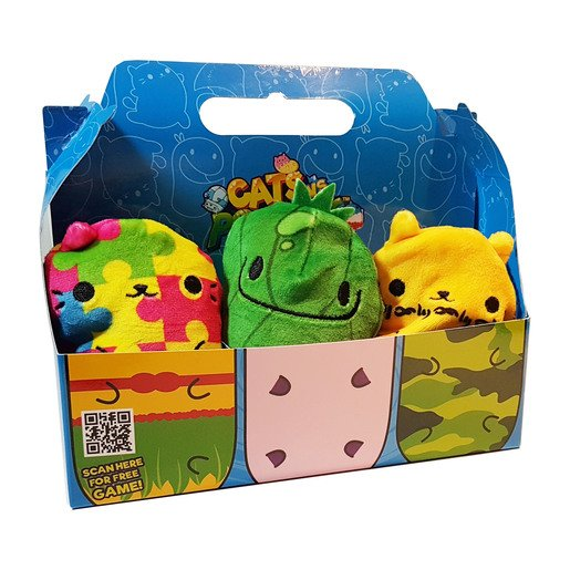 Picture of Cats vs Pickles Plush Collectable 6 Pack -  Puzzle