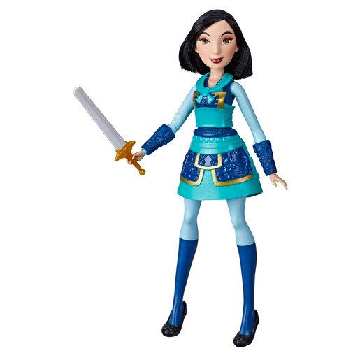 Picture of Disney Princess Warrior - Mulan Doll with Sword