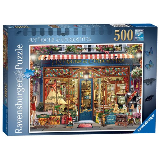 Picture of Ravensburger - Antiques & Curiosities 500pc Jigsaw Puzzle