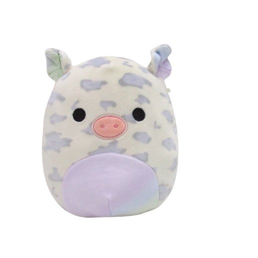 Picture of Squishmallows 20cm Soft Toy - Nia the Rainbow Pig