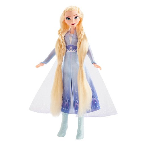 Picture of Disney Frozen 2 - Sister Styles Elsa Fashion Doll