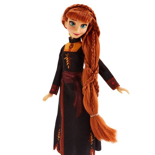 Picture of Disney Frozen 2 - Sister Styles Anna Fashion Doll