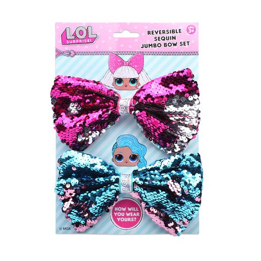 Picture of L.O.L Surprise! - Jumbo Sequin Bow 2 Pack