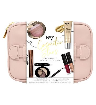 Picture of No7 Cosmetic Stars THE ULTIMATE VANITY CASE Christmas Gift Set