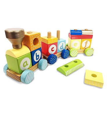 Picture of ELC Wooden Stacking Train
