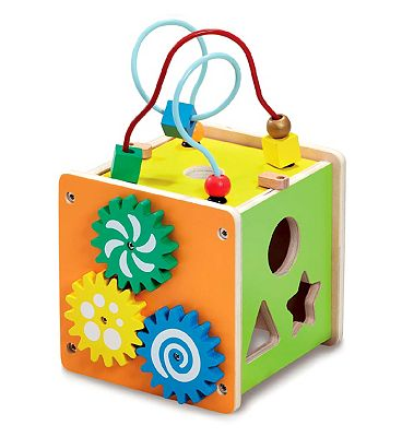 Picture of ELC Wooden Small Act Cube