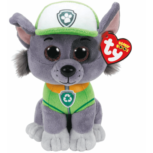 Picture of Ty Paw Patrol Soft Toy - Rocky
