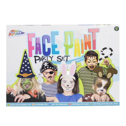 Picture of Grafix Face Paint Party Set
