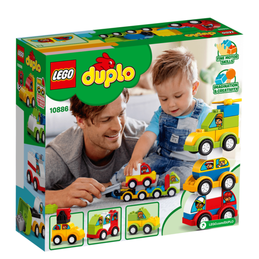 Picture of LEGO Duplo My First Car Creations - 10886