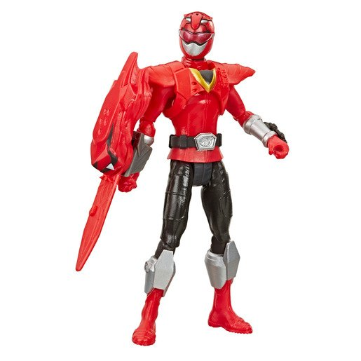 Picture of Power Rangers Beast Morphers 15cm Action Figure - Beast-X Red Ranger