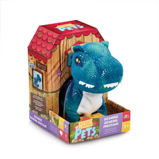 Picture of Pitter Patter Pets Roaming Roaring Dinosaur - Blue