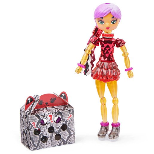 Picture of Twisty Girlz Transforming Doll - Ruby Spark
