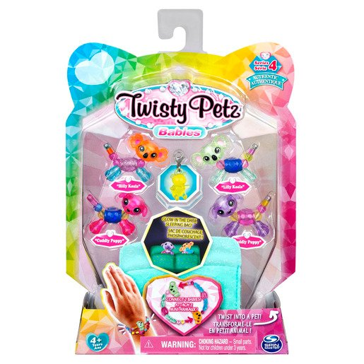 Picture of Twisty Petz Series 4 Babies - 4 Pack Hilly & Lilly Koala's With Cuddly & Puddly Puppies