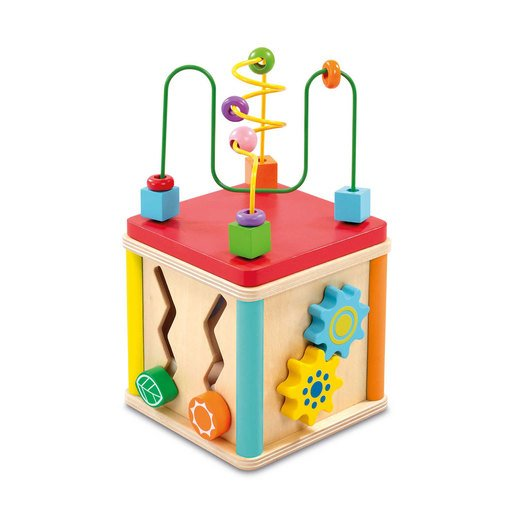 Picture of Woodlets 5 in 1 Activity Cube
