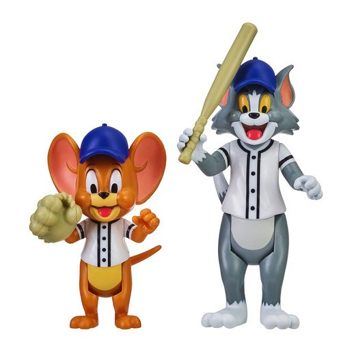 Picture of Tom & Jerry Figure 2-Pack: Play Ball Tom & Jerry