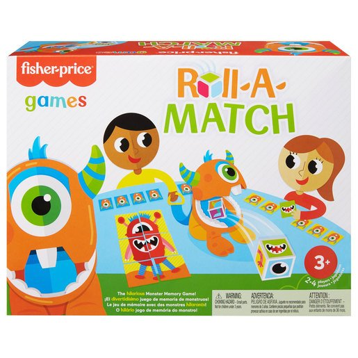 Picture of Fisher-Price Roll-a-Match Game