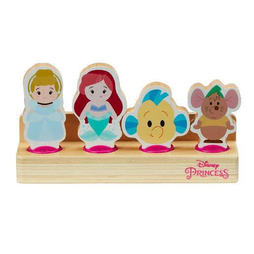 Picture of Disney Princess Wooden Figure Set (Styles Vary)