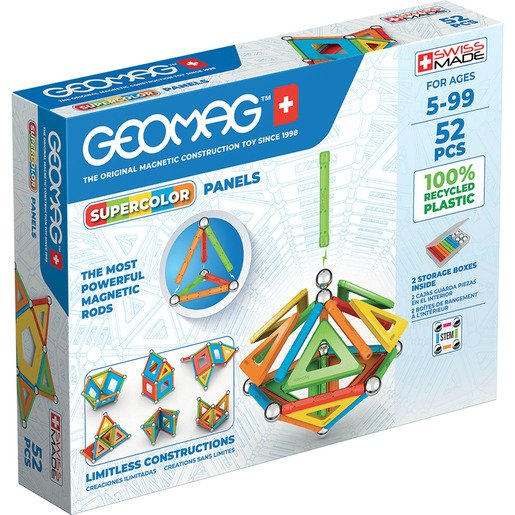 Picture of Geomag Super Color Magnetic Construction Set – 52pc