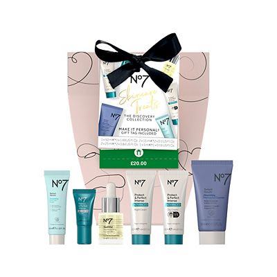 Picture of No7 Skincare Treats THE DISCOVERY COLLECTION Christmas Gift Sets