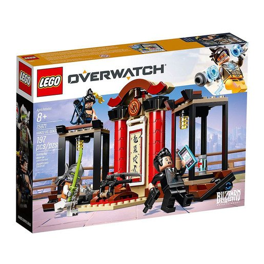 Picture of LEGO Overwatch Hanzo and Genji Building Kit - 75971