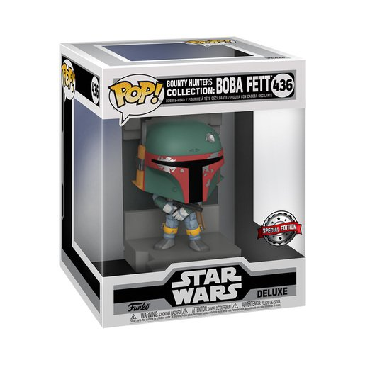Picture of Funko Pop! Star Wars: Bounty Hunters Collection - Deluxe Boba Fett (Special Edition)