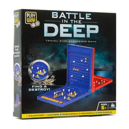Picture of Play & Win Battle In The Deep Strategic Travel Game