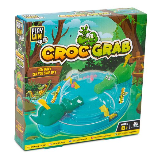 Picture of Play & Win Croc Grab Travel Game