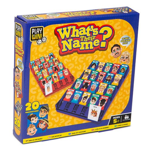 Picture of Play & Win Whats Their Name Travel Game