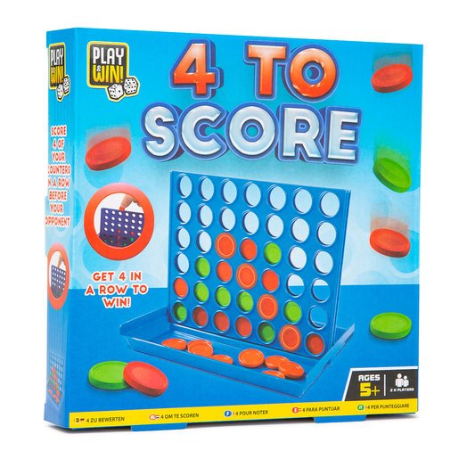 Picture of Play & Win Four To Score Travel Game